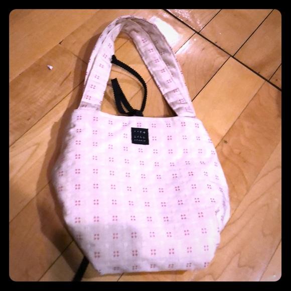 1154 Lill Studio Handbags - Reversible 1154 pink mini tote